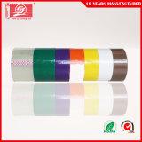 Bande adhésive d'emballage de la vente Low/No de couleur chaude du bruit BOPP Brown