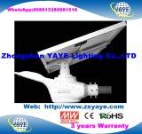 Yaye 18 Hot VENDRE CE/RoHS étanche IP66 60W Rue lumière LED solaire avec télécommande et 3 ans de garantie (disponible Watts : 20 W-150W)