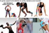 band van de Sporten van de Kinesiologie van 7.5cm*5m de Therapeutische Elastische