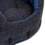 El tweed de lana persigue la tela de la base para los animales domésticos
