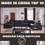 Mobília moderna da casa do projeto Sofá real do couro Corner