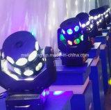 16*12W RGBW 4in1LED bewegliches doppeltes Fliegen-Hauptlicht