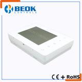 Termóstato programable sin hilos de la caldera de gas de la pantalla táctil para la calefacción del sitio