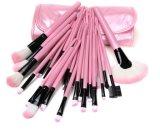 32 чтобы щеткой, розового цвета, щетки, цветной макияж инструмент костюм, 2 цветных профессиональный макияж щетки