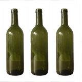 obscuridade do Bordéus da altura de 290mm - frasco de vinho do vidro verde