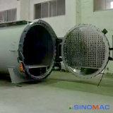 composés d'automatisation de chauffage de vapeur de 1500X4500mm pleins collant l'autoclave