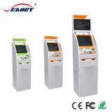 Terminal del pago con la visualización del balanceo del LED para las baterías