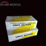 Guanti liberi del vinile della polvere a gettare/guanto a gettare/di funzionamento medico