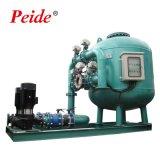 O Sistema de Recirculação da aquicultura máquina de filtro de Areia Automática