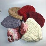 熱い販売の方法綿の冬の女性の帽子の帽子の女性帽子