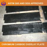 Plaque d'usure de soudure de carbure de chrome pour la remise matérielle