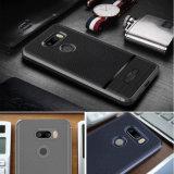 LG를 위한 새로운 TPU Case, Apple LG V30 Phone Cover를 위한 Litchi Stria Leather Grain TPU
