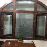 Safety Grid를 가진 알루미늄 Alloy Double Glazed Casement Window
