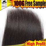 cheveu humain brésilien de la Vierge 100%Natural