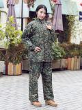 2018 방수 플라스틱 비옷 Polyester/PVC/EVA 비옷