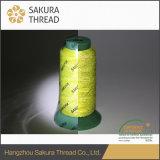Sakura-haltbares hohes sichtbares reflektierendes Stickerei-Gewinde mit Oeko-Tex 100