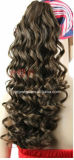El cabello humano Clips de Hair Extension Cola de Caballo (PPG-L-0656)
