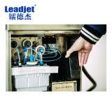 Máquina cosmética de la impresora de inyección de tinta de la botella del sello de la codificación de la fecha de vencimiento de Leadjet V380