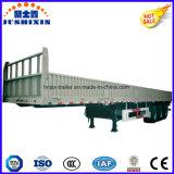 Lato ad alta resistenza della parete dell'Tri-Asse dell'acciaio 40FT/scheda laterale/rimorchio di trattore camion della rete fissa con il lato di goccia
