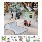 Фальшивый снег одеяло украшения на Рождество деревни сцены дисплей