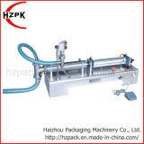 Frasco de cabeça única horizontal equipamento da máquina de enchimento líquido G1O DMJ 300ml