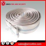 Boyau de bouche d'incendie avec des connexions de tuyau d'incendie