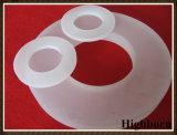 Bride anti-calorique blanche laiteuse en verre de quartz protégé par fusible dans les tailles en tant que demande