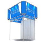 يتاجر عرض [بورتبل] معياريّة ألومنيوم حاجز عرض