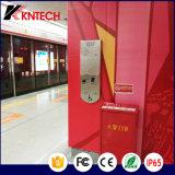 ヘルプの電話誘導ループ電話Knzd-17エレベーターの電話険しい電話