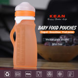 250ml BPA geben Farben-Säuglingsnahrung-Behälter des Silikon-vier frei