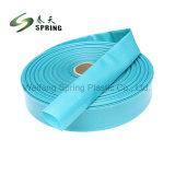 De plastic Slang van Layflat van de Lossing van de Irrigatie van het Water van pvc Flexibele Landbouw