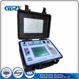 Verificador de campo do transformador atual para o calibrador no local do CT