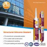 Vedador adesivo forte estrutural do silicone para a engenharia da parede de vidro