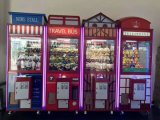 Роскошный кран &#160 игрушки типа Англии эксплуатируемое монеткой; Приз &#160 машины игры; Машина игры