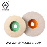 Rotella di lucidatura del feltro delle lane di vetro duro di alta qualità 100%Wool