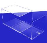 AcrylDoos van de dia de uit, de Duidelijke Doos van de Vertoning van het Perspex van het Plexiglas Acryl