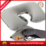 Bocal insuflável de pelúcia travesseiro para avião/carro