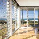 Высокое качество Двойная распашная алюминиевых окон и дверей из стекла