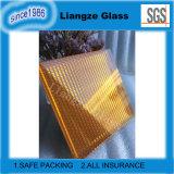 Metalldraht-Kunst-orange lamelliertes Glas mit ISO