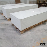 Surface solide acrylique blanche pure de Kkr