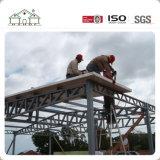 Casa prefabricada del chalet de la estructura de acero del diseño moderno de la alta calidad