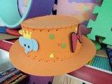 Tampão de EVA/chapéu relativos à promoção da espuma com logotipo da impressão