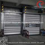 격리된 알루미늄 금속 고속 나선형 문 (ST-SHSD)