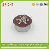 Norme Euro Tealight bougies de Noël non parfumé avec le BSCI Certificat