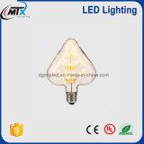 Super brillante LED Lámpara Vintage de forma de corazón para decorar