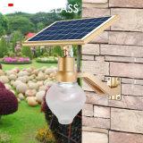 Formato de pêssego Apple Garden lâmpada LED do sensor de controle do tempo e luz solar Lâmpada incluída