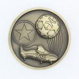 カスタム鋳造物のロゴによって押されるスポーツメダルを停止しなさい