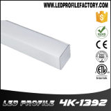 Aluminiumstrangpresßling der quadratischen Ecken-4139 für Licht des Schrank-LED