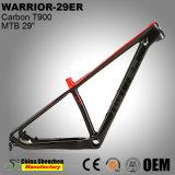 Feu de routage de tous les câbles internes carbone Cadre de bicyclette 29er VTT