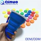 Cup des Wasser-Behälter-Silikon-zusammenklappbare Cup-/Arbeitsweg